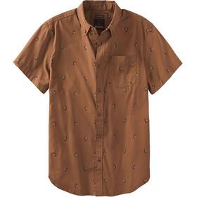 Prana M's Broderick Slim SS Shirt Tree Bark